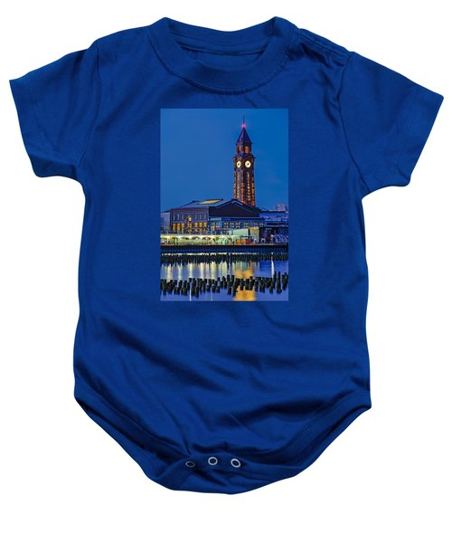 Erie Lackawanna Terminal Hoboken Baby Onesie