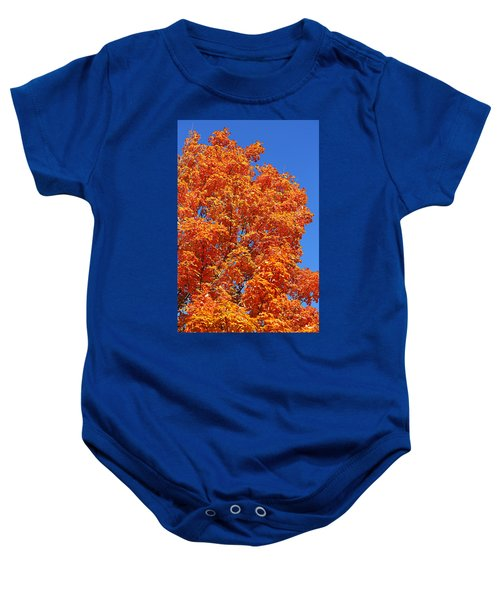 Fall Foliage Colors 18 Baby Onesie