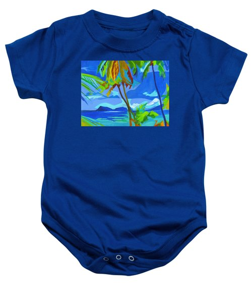 Dream Islands. Maui Baby Onesie