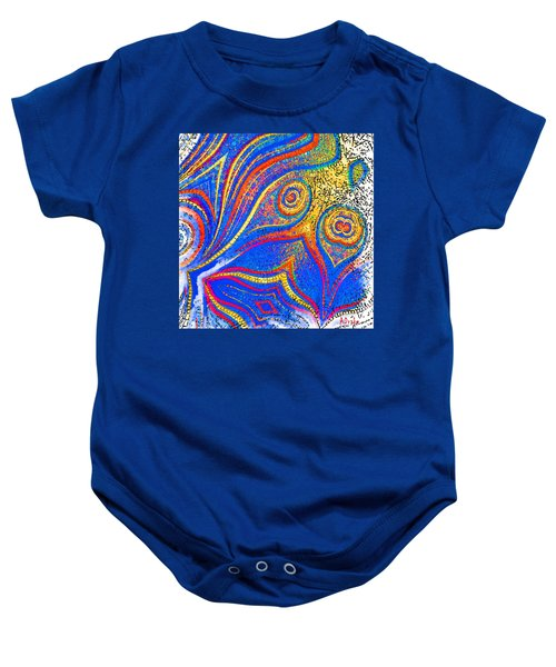 Fishing For Colours Baby Onesie