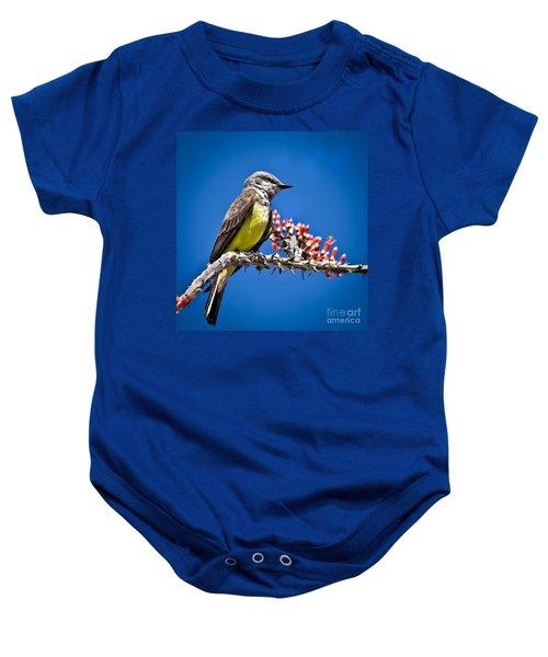 Flycatcher Baby Onesie
