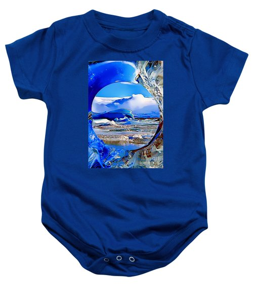 Glacier Baby Onesie