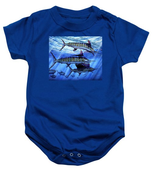 Grand Slam Lure And Tuna Baby Onesie