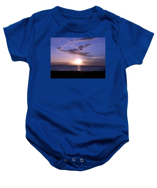 Greyhound In The Sky Baby Onesie