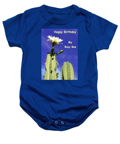 Happy Birthday Card And Print 22 Baby Onesie