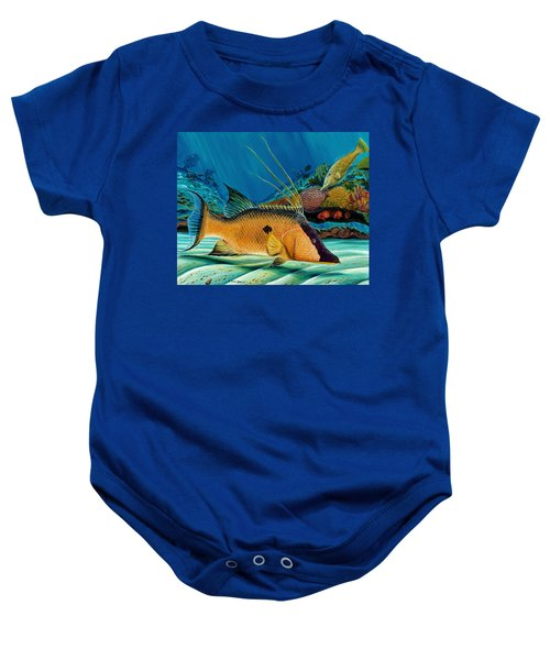 Hog And Filefish Baby Onesie