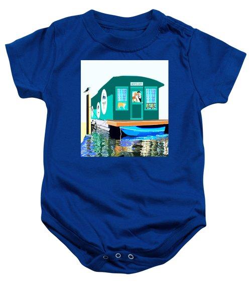 Houseboat Baby Onesie