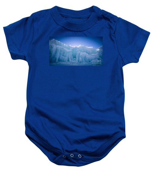 Ice Castle Baby Onesie