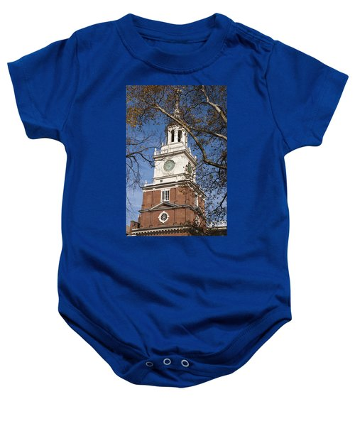 Independence Hall Baby Onesie