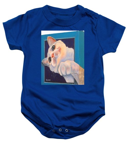 Ive Been Framed Side View Baby Onesie