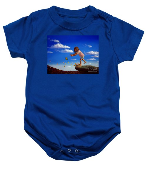 Letting It Go Baby Onesie