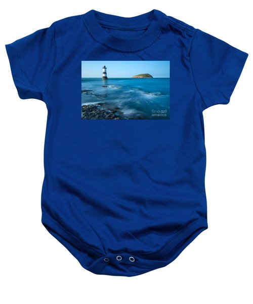Lighthouse At Penmon Point Baby Onesie