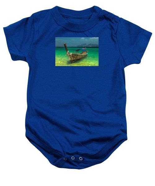 Longboat Baby Onesie