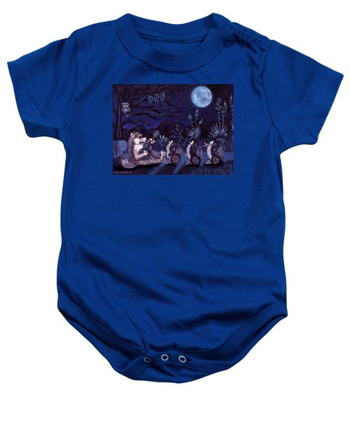 Los Cantantes Or The Singers Baby Onesie