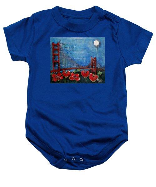 Love For San Francisco Baby Onesie