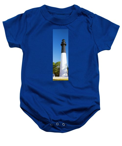 Low Angle View Of A Lighthouse, Hunting Baby Onesie
