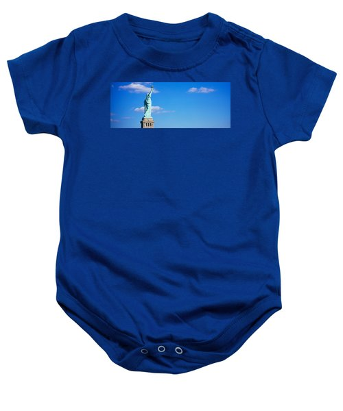 Low Angle View Of A Statue, Statue Baby Onesie