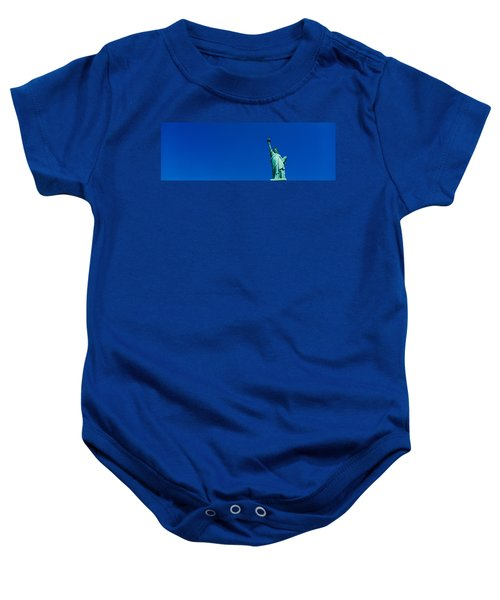 Low Angle View Of Statue Of Liberty Baby Onesie
