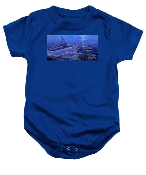Marlin Mirror Off0022 Baby Onesie
