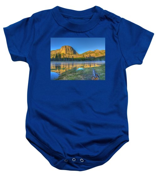 Mt. Hayes Alpine Glow Yellowstone National Park Baby Onesie