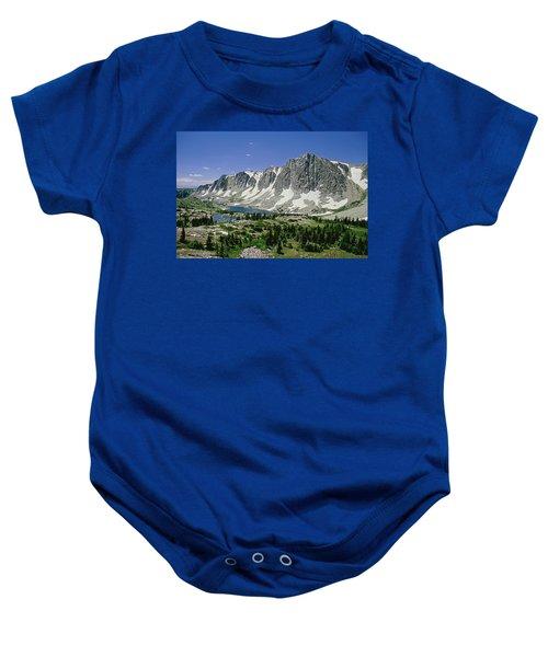 M-09702-old Main Peak, Wy Baby Onesie