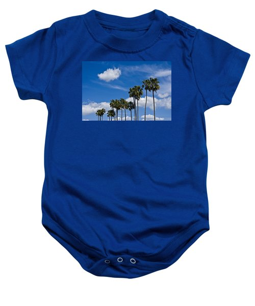 Palm Trees In San Diego California No. 1661 Baby Onesie