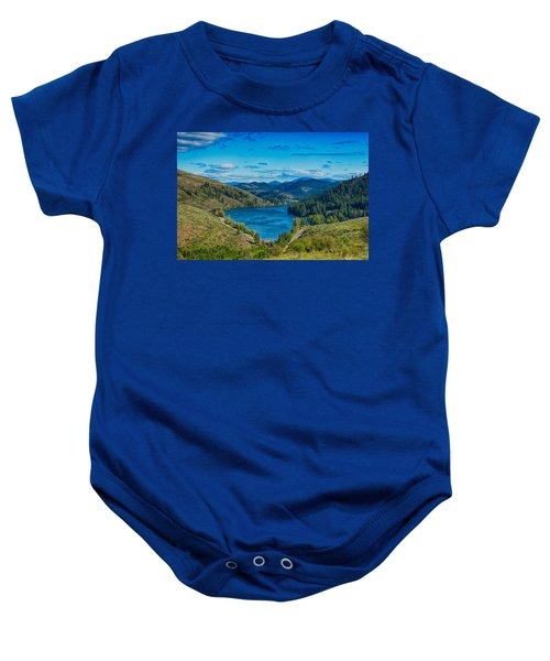 Patterson Lake In The Summer Baby Onesie