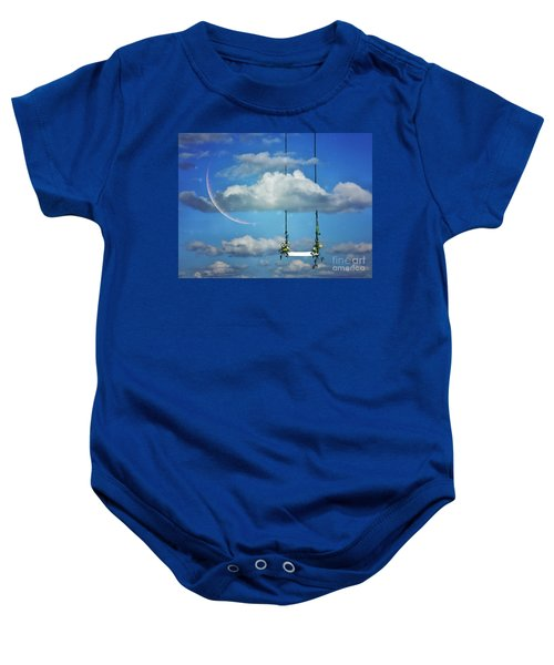 Playing In The Clouds Baby Onesie