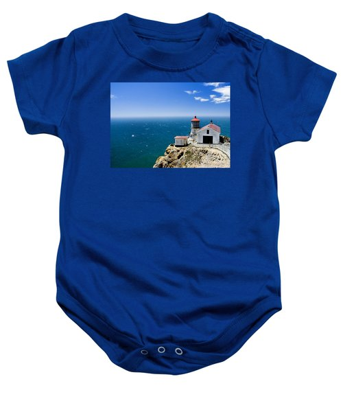 Point Reyes Lighthouse California Baby Onesie