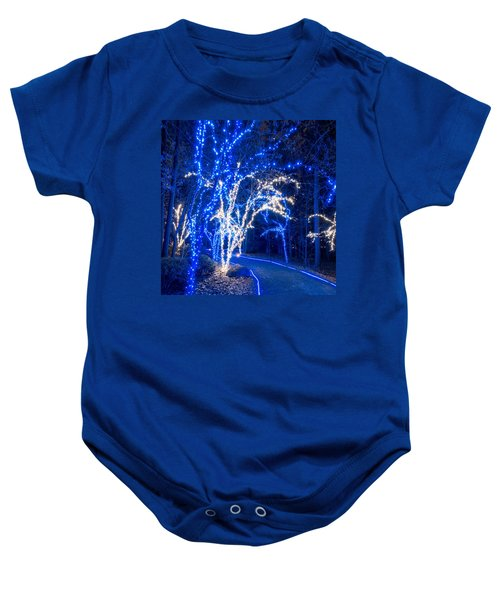 Pond Path Baby Onesie