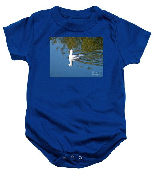 Ring-billed Gull Baby Onesie