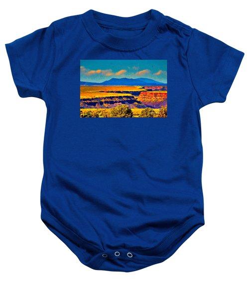 Rio Grande Gorge Lv Baby Onesie