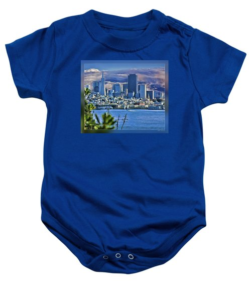 San Francisco From Alcatraz Baby Onesie