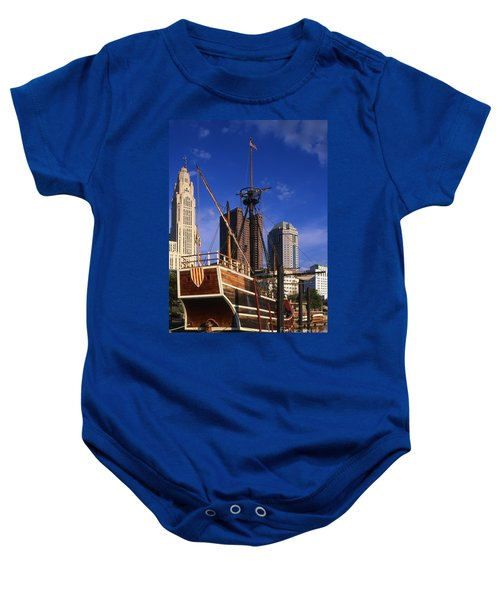 Santa Maria Replica Photo Baby Onesie