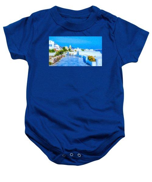Santorini Grk4120 Baby Onesie