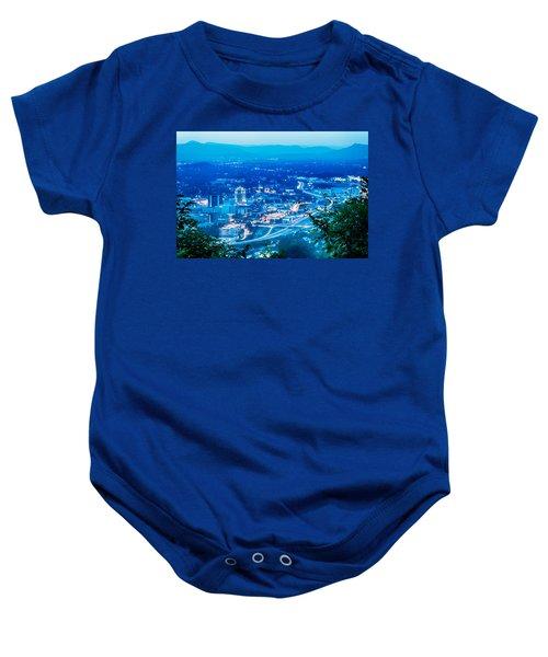Scenics Around Mill Mountain Roanoke Virginia Usa Baby Onesie