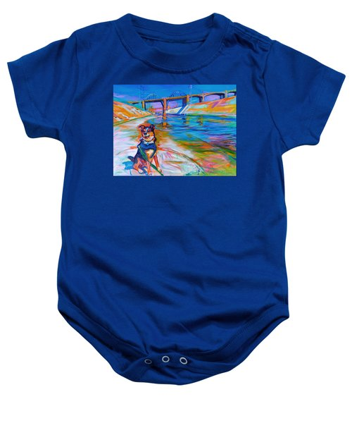 Scout The River Guard Baby Onesie