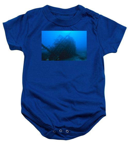 Shipwreck On Govenors River Walk Baby Onesie