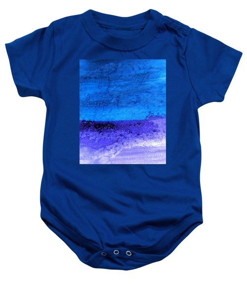 Something Blue Baby Onesie