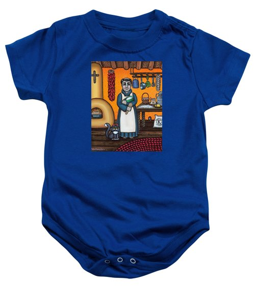 St. Pascual Making Bread Baby Onesie