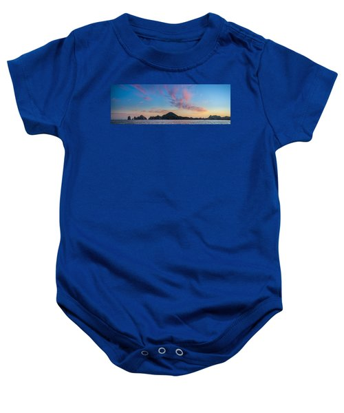 Baby Onesie featuring the photograph Sunset Over Cabo by Sebastian Musial