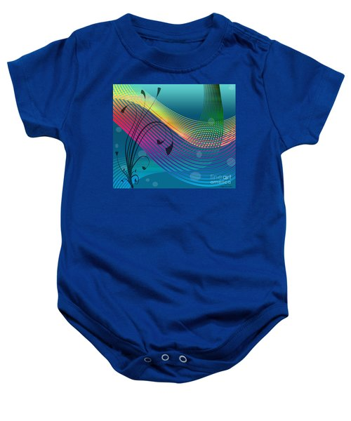 Sweet Dreams Abstract Baby Onesie