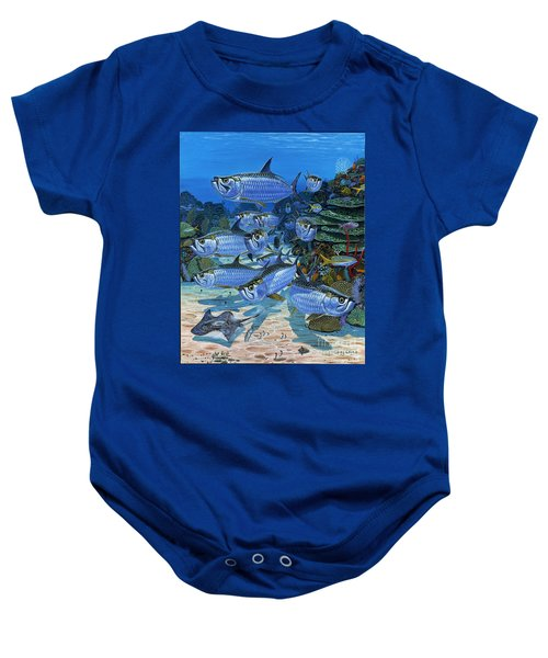Tarpon Alley In0019 Baby Onesie