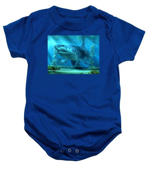 The Biggest Shark Baby Onesie