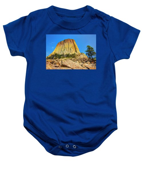 The Rock Shop Baby Onesie