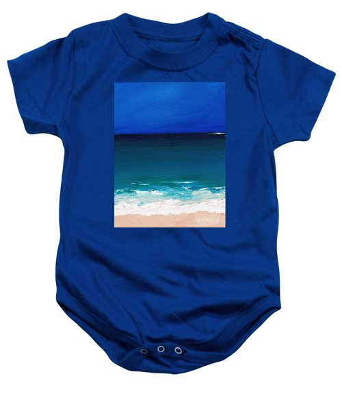 The Tide Coming In Baby Onesie