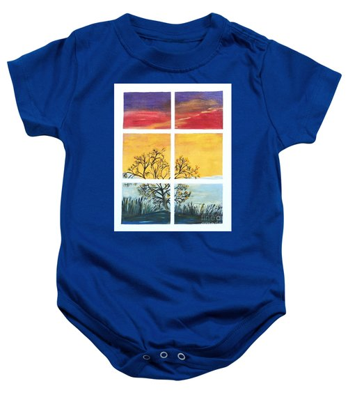Tranquil View Baby Onesie