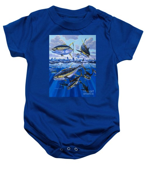 Tuna Rampage Off0018 Baby Onesie by Carey Chen
