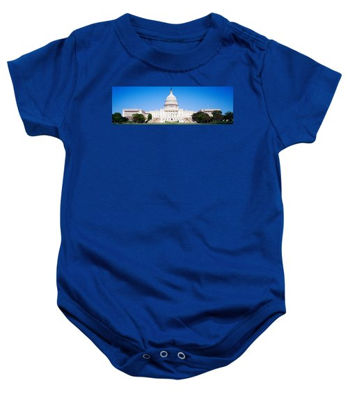 Us Capitol, Washington Dc, District Of Baby Onesie