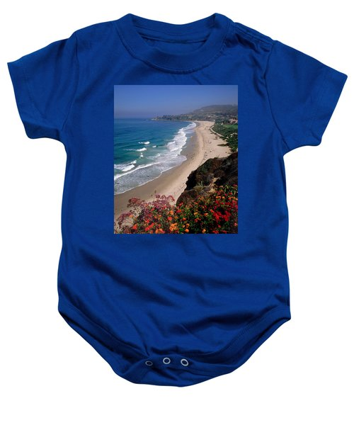 View Of Salt Creek Beach Baby Onesie